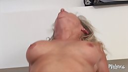 Marina is a naughty mature who likes to have casual sex with her step- son